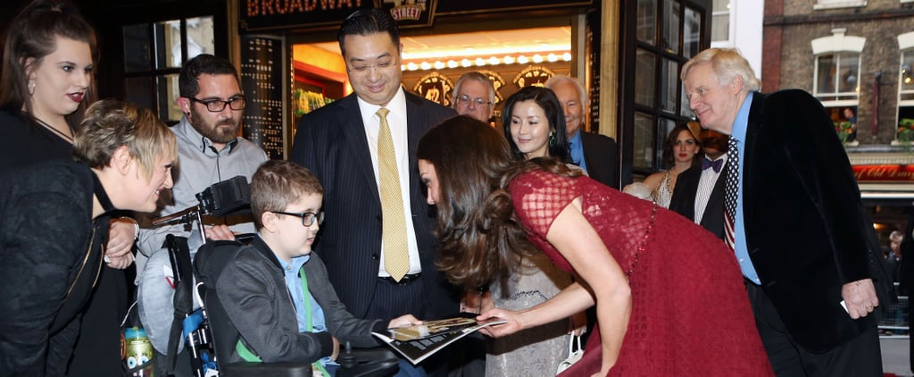 Kate Middleton Shares a Heartwarming Moment With a Young Boy at a Charity Event