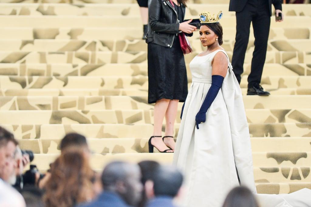 Mindy Kaling Met Gala Dress 2018