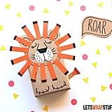 Sleepy Lion Gift Wrap
