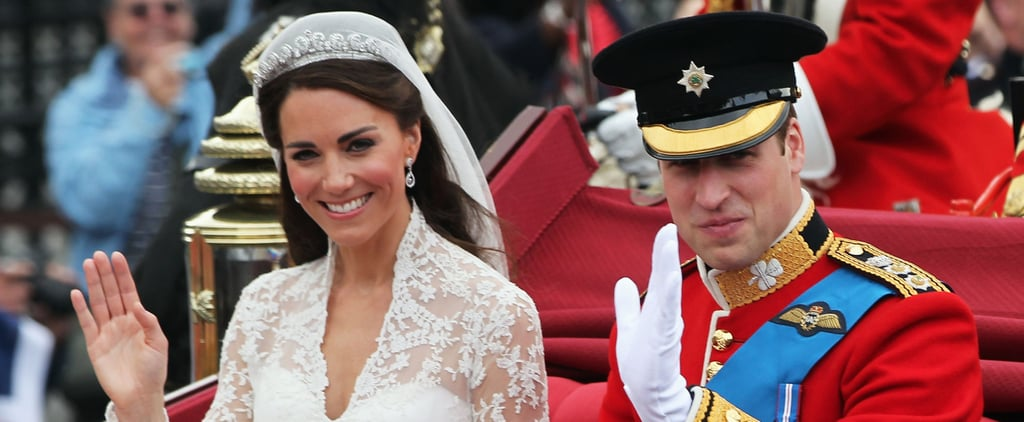 The Duke and Duchess of Cambridge Wedding Facts