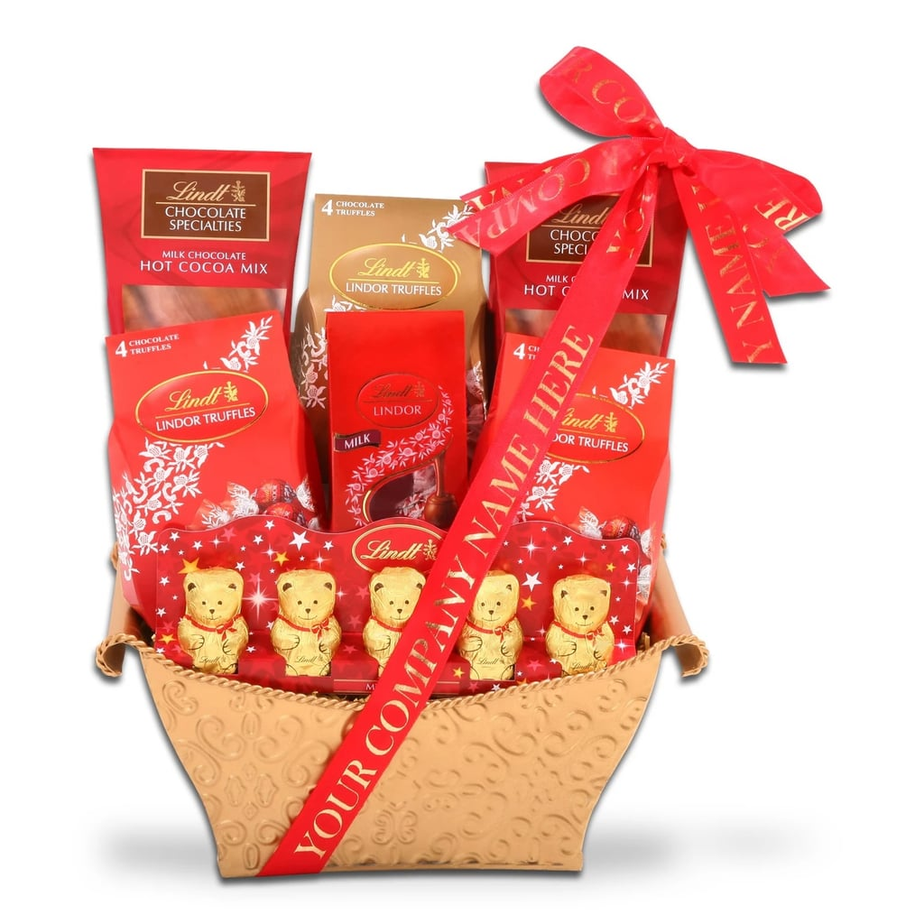 Alder Creek Gifts Lindt Treasures Christmas Gift Basket