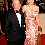 Mayor Michael Bloomberg and Diana Taylor in 2011