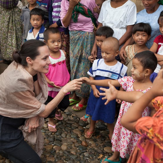 Angelina Jolie's Charity Work
