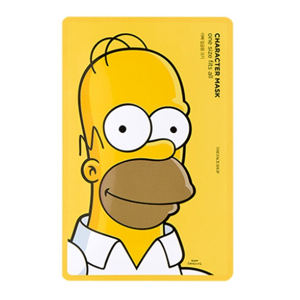 The Face Shop x The Simpsons Character Mask Homer