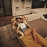 Selena Gomez's Double Tank Top on WSJ. Magazine
