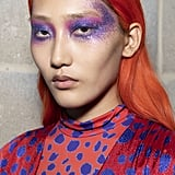 Spring 2020 Runway Beauty Trends: Rock 'n Roll Glitter