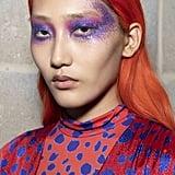 Spring 2020 Runway Beauty Trends: Rock 'n' Roll Glitter