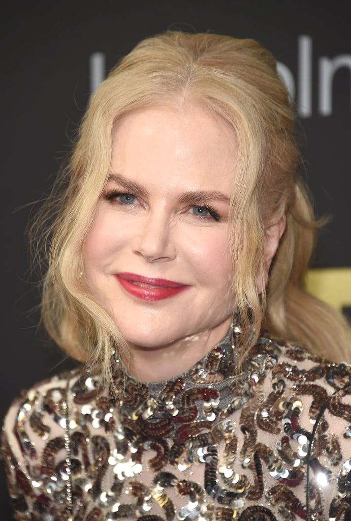 Nicole Kidman Celebrity Hair Color Trends 2018 Popsugar Beauty