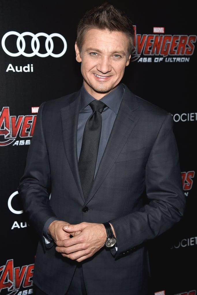 Jeremy Renner as Clint Barton/Hawkeye
