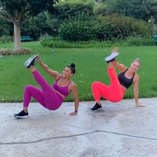 Jeanette Jenkins's 10-Move Bodyweight HIIT Workout