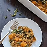Butternut Squash Casserole With Sausage and Sage Breadcrumbs
