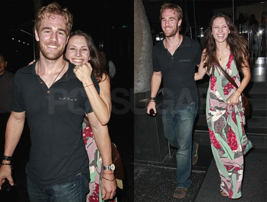 Photos of James Van Der Beek and Wife Heather McComb at Katsuya