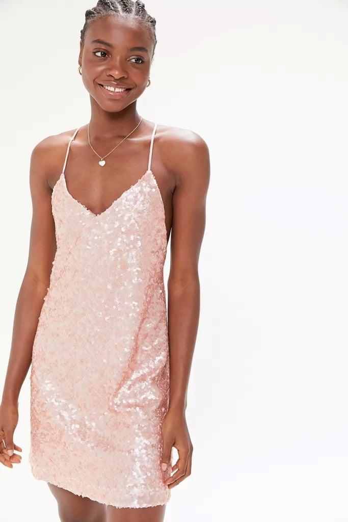 UO Confetti Sequin Mini Dress