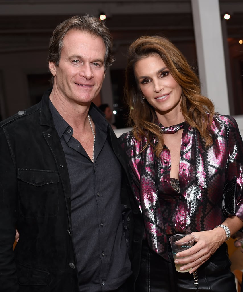Cindy Crawford and Family at Marc Jacobs Beauty Event 2017 ...