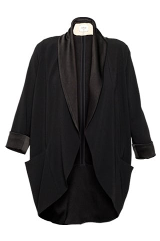 One of our editors owns this perfectly draped tuxedo-inspired jacket. 