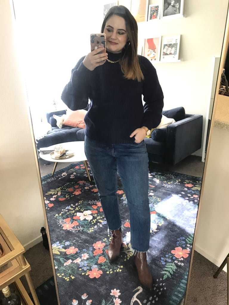 The Classic Mock-Neck Sweater