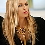 Rachel Zoe checked out her designs.