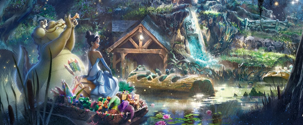 Disney's Splash Mountain Becoming Princess and the Frog Ride