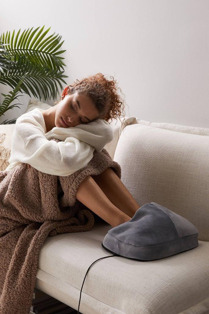 Sharper Image Massager Foot Pillow