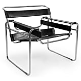 Voldemort: Wassily Chair in Black Leather