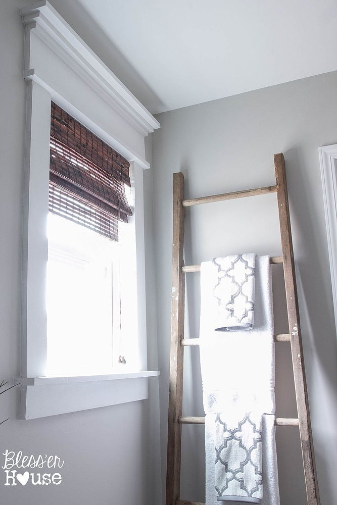 To Give Our Moulding Less Window Some Character We Added Trim And A