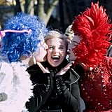 Scarlett clowned around at Harvard while accepting her Hasty Pudding Woman of the Year honor in 2007.