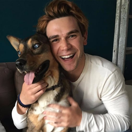 Photos of KJ Apa With Dogs