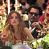 Johnny Depp and Amber Heard Heat Up LA With a Hot Date Night Ahead of the Golden Globes