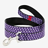 Disney Minnie Mouse Bow Ears Monogram Dots Dog Leash
