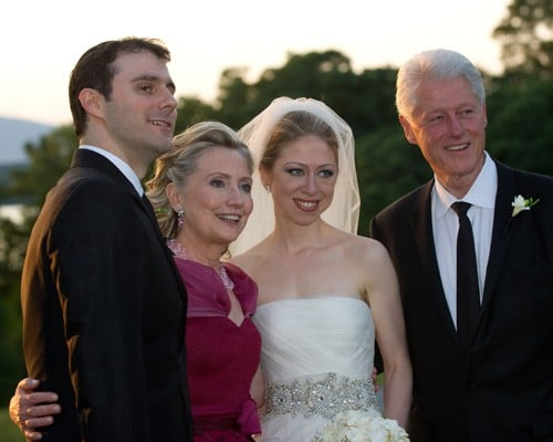 Chelsea Clinton and Marc Mezvinsky Tie the Knot!