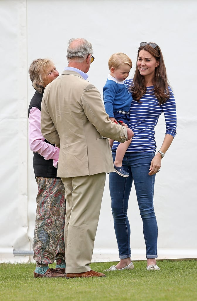 Charles Is a ''Brilliant Grandfather''