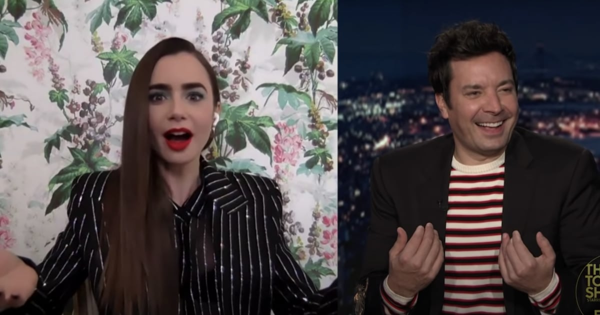 "It's OK Guys, Even Lily Collins Didn't Know How to Pronounce ""Emily in Paris"""