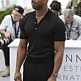 Michael B. Jordan at Cannes Film Festival 2018 Pictures