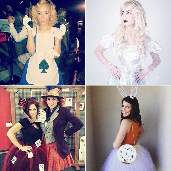 Alice In Wonderland Halloween Costume Diy Popsugar Love Sex