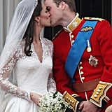 Kate Middleton and Prince William, 2011