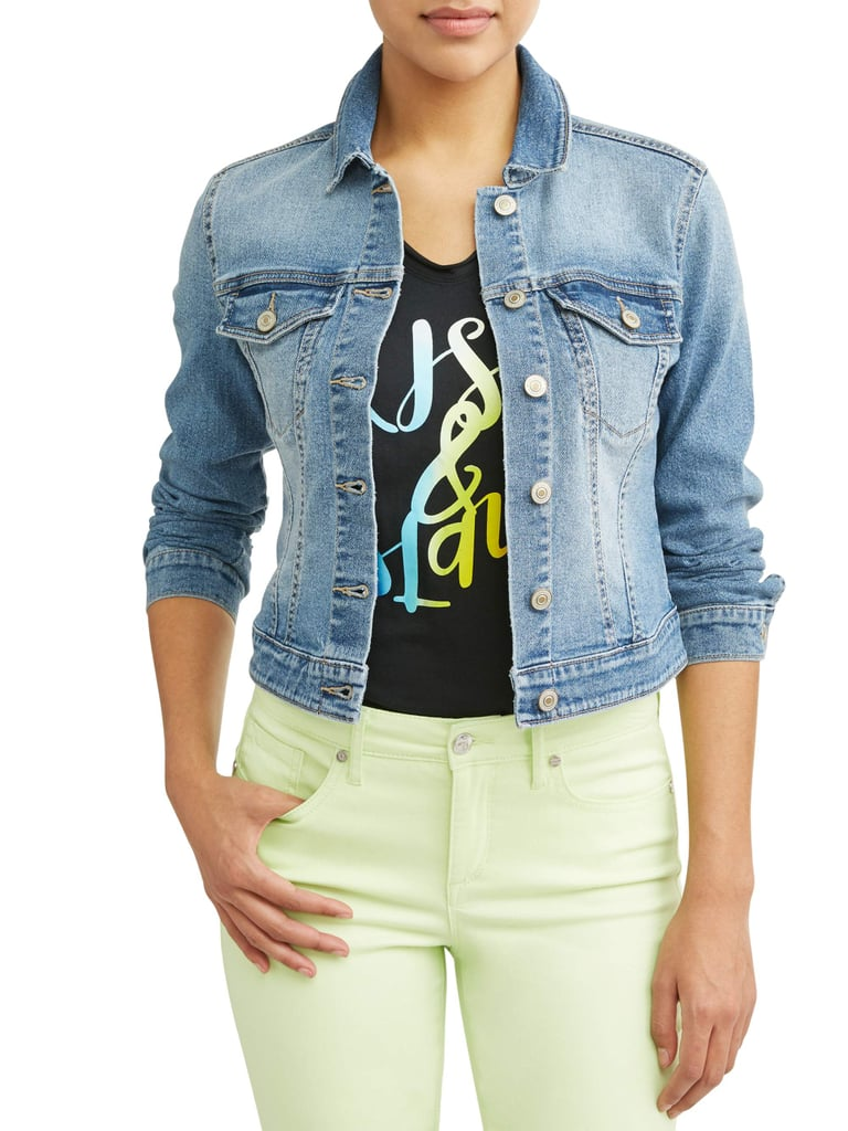Marianella Soft Stretch Washed Denim Jacket