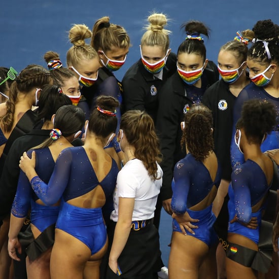 Hilarious Video of UCLA Gymnasts Mic'd Up During Competition