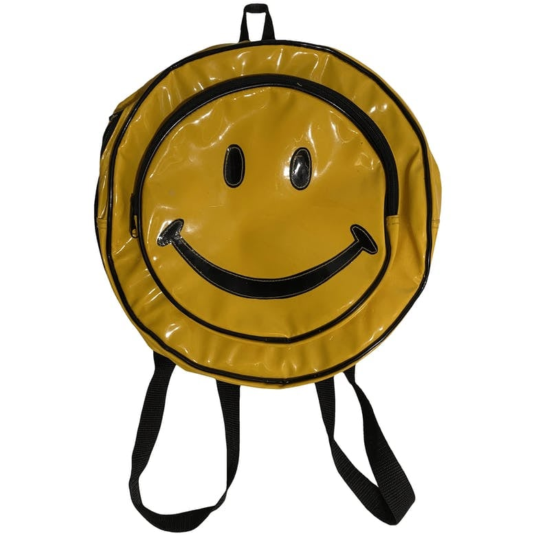 Yellow Happy Face Backpack