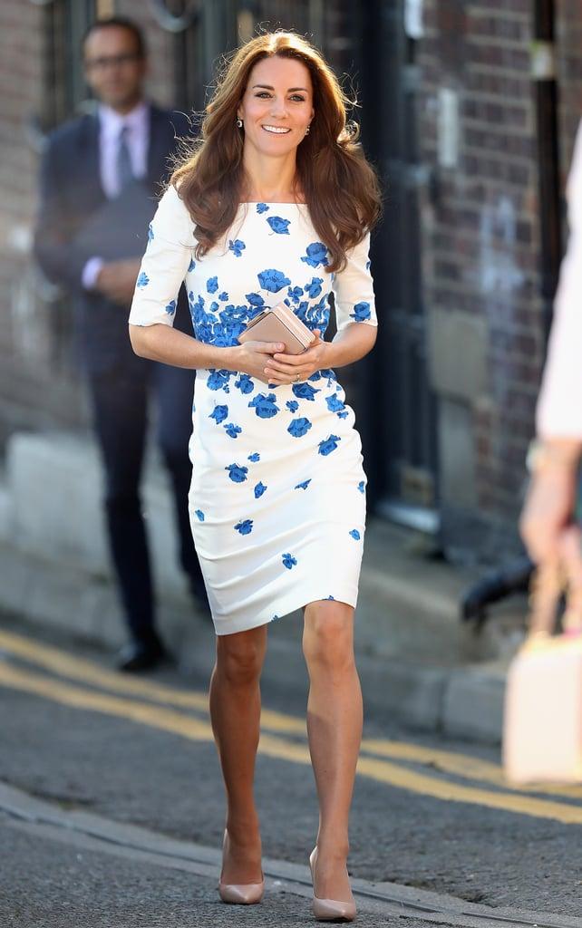 Duchess of Cambridge Wearing an LK Bennett Dress August 2016