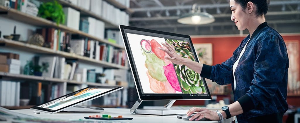 Microsoft's Beautiful Surface Studio Is Its First Ever Desktop PC, and You're Going to Want It