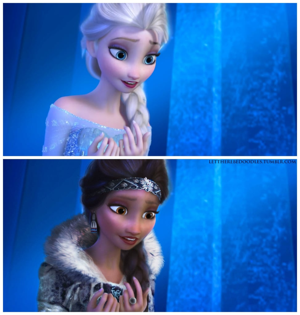 Disney Princesses With Different Races  Popsugar Love  Sex-4016