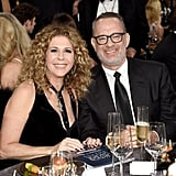 Pictured: Tom Hanks and Rita Wilson