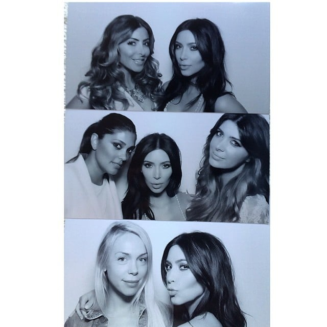 pictures from inside kim kardashians bridal shower popsugar celebrity australia