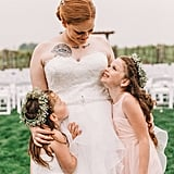 Photo of Girl Crying When Her Mom Gets Married