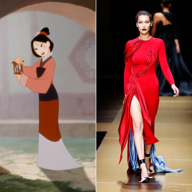 Mulan in Atelier Versace Haute Couture