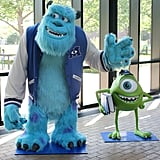 . . . and Sulley and Mike Wazowski from Monsters, Inc.