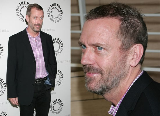 Photos of Hugh Laurie At A Q&A Session In LA For House, Talking About Stephen Fry Cameo Appearance On The Show