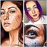 Proof That Rainbow Freckles Are Pretty Enough to Wear IRL