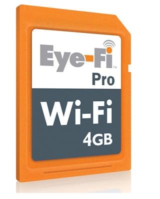 Eye-Fi Announces Eye-Fi Pro