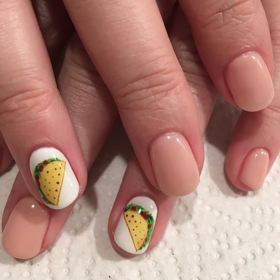 Taco Nail Art Ideas